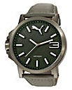 Puma Gents Ultrasize Grey Dial Watch