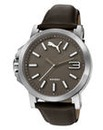 Puma Ultrasize Grey Leather Watch