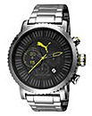 Puma Chronograph Stainless Steel Watch