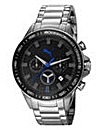 Puma Gents Black Dial Watch