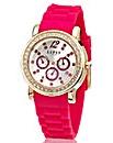 Lipsy Pink Strap Glitzy Watch