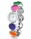 Ladies Multi-coloured Bracelet Watch