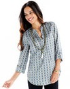 Joanna Hope Print Tunic and Necklace