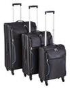 Lightweight 3 Piece Jacquard Luggage Set