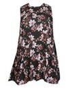 Samya High Neck Floral Dress