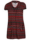 Samya Geo Print Tunic Dress