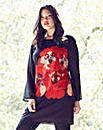 Anna Scholz Floral Print Chiffon Tunic