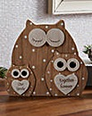 Owl Family Trio