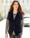 Nightingales Faux Fur Gilet