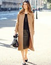 Nightingales Longline Coat Length 44in