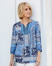 Nightingales Paisley Embroidered Tunic