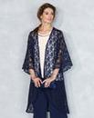 Nightingales Lace Trim Kimono