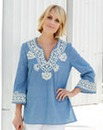 Nightingales Chambray Tunic
