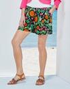 Woven Print Shorts