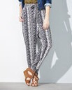 Print Woven Trousers Regular