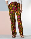 Woven Printed Hareem Trousers - Short