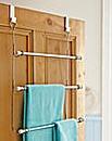 Overdoor Towel Rack