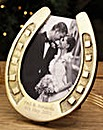 Horse Shoe Picture Frame Personalised