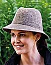 Drop Brim Trilby Hat