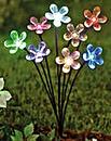 Solar Light Staked Flower Spray