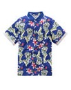Label J Havana Floral Polo Regular