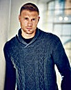 Flintoff by Jacamo Shawl Neck Jumper