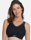Royce Impact Free Black/Silvr Sports Bra