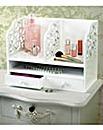 Fretwork Shelf Organsier
