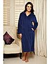Pretty Secrets Velour Zip Gown 42 inch
