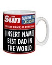 The Sun Headlines Personalised Mugs