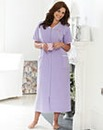 SHORT SLEEVED VELOUR GOWN 48