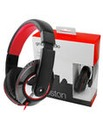 Stereo Black Gloss Headphones