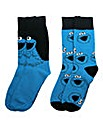 Cookie Monster Pack of Two Socks