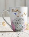 Personalised Me To You Special Sis Mug