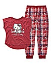 Hello Kitty Pyjama Set