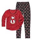 Pretty Secrets Penguin Print Pyjamas