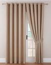 Imogen Basket Weave Eyelet Curtains