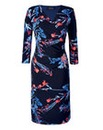 Grace Floral Wrap Dress
