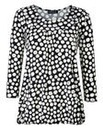 Grace Polka Dot Bubble Hem Top
