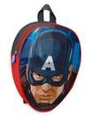 Captain America Head Shaped Backpack