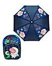 Peppa Pig George Backpack and Umbrella