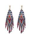 Mood Multi beaded chandelier earring