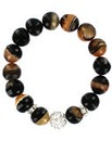 Natural Stone Elasticated Bracelet