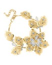 Jon Richard Mesh Flower Bracelet