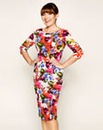 Lorraine Kelly Printed Textured Dress