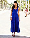 Tiered Jersey Maxi Dress 50in