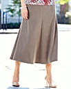 Mock Suede Skirt