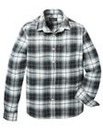 Label J Shadow Check Shirt Regular