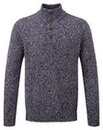 Tog24 Zak Mens Knit Button Neck