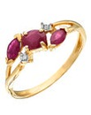 9 Carat Gold Ruby Ring